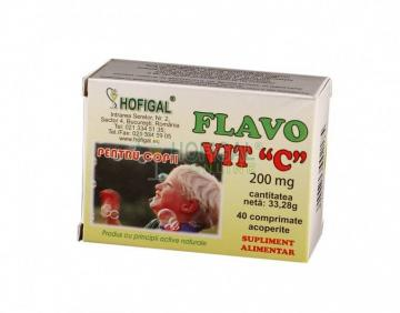Flavovit C pt. Copii 40 cpr masticabile